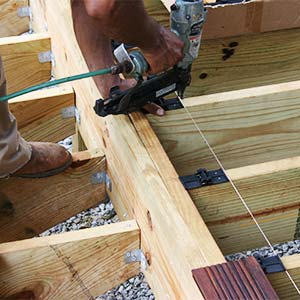 joists for bamboo decking