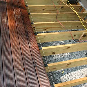 joist span for bamboo decking