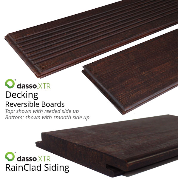 dassoXTR fused bamboo decking