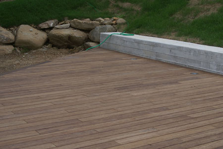 Bryn Mawr, Pennsylvania private residence featuring 1,100 square feet of dasso.XTR Fused Bamboo decking.