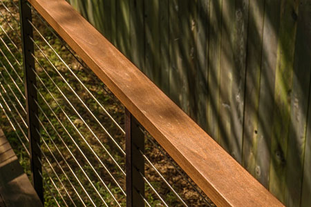 Less expensive than some tropical hardwoods, dassoXTR is 100% sustainable and will last for decades.