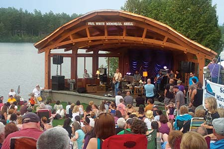 Lake Placid Band Shell