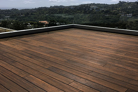 manufactured using the patented Fused Bamboo® process the decking products of dassoXTR features two colors: Classic Espresso and Epic Cognac