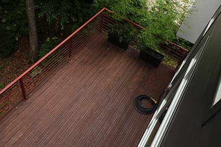 dasso.XTR exterior bamboo decking installed in private residence